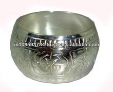 Impresionante Simple del Metal del estilo anillo de servilleta