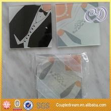 Novelty Newest Seashell Glass Coasters