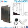 Hot sell TUV IEC Certified 190W monocrystal solar panel for home system