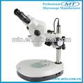 Mzs0745 7x-45x heißer verkauf fernglas zoom lcd-stereo-mikroskop mit lampe stand