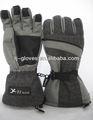 kış windproof sıcak su geçirmez pil ısıtmalı eldiven
