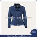 2014 u'sake china dongguan proveedor al por mayor chaquetas de tela vaquera para las mujeres s141344