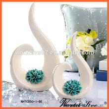 NHTC850 Modern Style Home Decorative Ceramic Wedding Favor