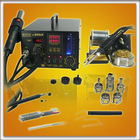 AOYUE 968A+ 3 in 1 SMD hot air rework soldering station