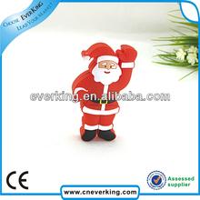 New Custom PVC USB 3.0 With Santa Claus Shape