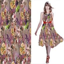 2014 Frühjahr und Sommer digitaldruck von rayon-gewebe