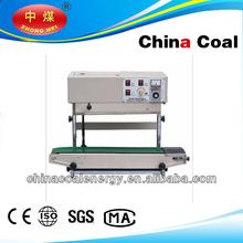 Vertical Horizontal Continuous heat sealer for aluminum foil plastic bags