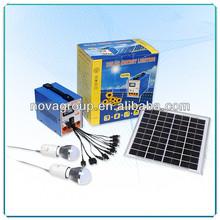 home solar system DC Portable Solar lighting system