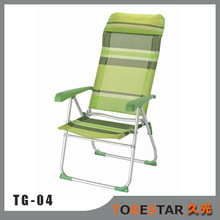 Best Seller Beach Deck Chair With Pillow for Heavy People