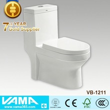 High Class Modern White Power Flush Toilet