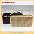 x5 nogueira portátil sem fio bluetooth speakers com punho design