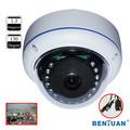 A prueba de vandalismo domo mini 130 grados de la cámara ip con resolución 1280*960p, apoyo onvif 2.0 #bn- ip130dvir