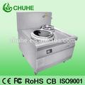 304# presión de acero inoxidable de gran cocina de la inducción