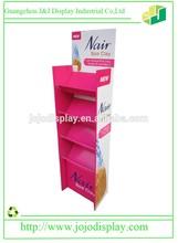 pink gelato cardboard display stand