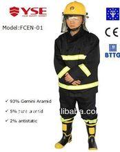 Nomex fire rescue coat flame retardant jacket