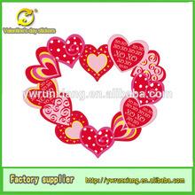 2014 Best Quality most popular wedding sticker,300g paper wedding decoration