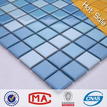 Lyy 25*25mm forma cuadrada de cerámica mosaico pulido medallón interior de materiales de construcción backsplash de la cocina imágenes
