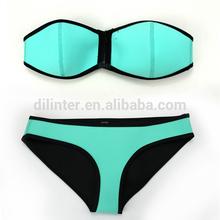 2015 sexy girl micro bikini noeprene swimwear models
