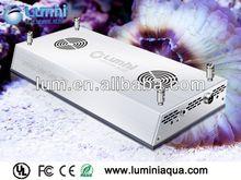 lumini Aqua programmable full spectrum hot sale 120w led coral reef aquarium light