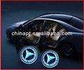 Nouveau type 12v porte voiture conduit de lumière logo fantômes. lumière ombre