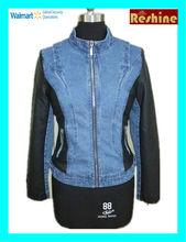 women leather autumn jacket