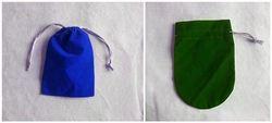 velvet candy bag/black gold gift bags/mini jute gift bags