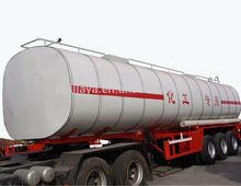 factory price 45m3 50M3 3 axles liquid chemical tank truck trailer / tanker truck semi-trailer ( volume customized)