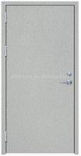 Steel Fire Rated Door Powder Coat BS476 standard certificate
