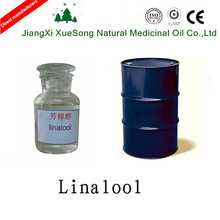 Xuesong high purity 96% natural linalool CAS NO.78-70-6