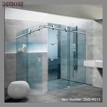 indoor/outdoor tempered glass steam shower room/cabin