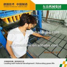 automatic concrete paver & brick making machine qt4-15 dongyue machinery group