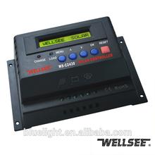 WS-C2430 30A solar power regulator controller 12v 24v solar charger controller PWM for solar system