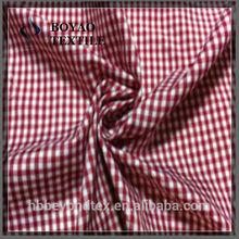 2014 popular yarn dyed 100% cotton fabric for garment