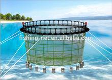 HDPE circular aquaculture farm fishing cage