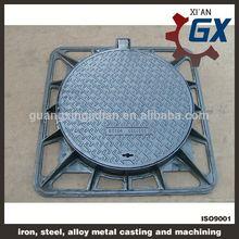 Bituminous varnish BS EN124 standard manhole cover double seal
