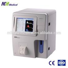 3 diff 2 channels automatic blood component analysis hematology analyzer