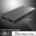 Alluminium Housing Power Bank, Noble touch External Battery Charger, 6500mAh