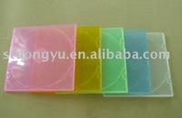 5.2mm Colourful PP Plastic CD Case