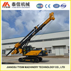 TOP foundation equipment TSECAR small/mini hydraulic rotary drilling rig KR125A, best driving pile construction equipment