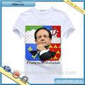 Camiseta para presidente francés elección, Francés de la campaña de camisetas, Camiseta promocional