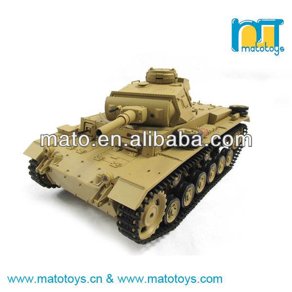1/16 2.4 GHz askeri panzer iiih rc tank oyuncak ses ve duman fonksiyonu