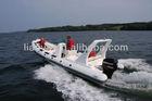 Liya China 6.6m Rigid inflatable boat rib boat