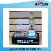 Top quality LED acrylic wine bottle holder