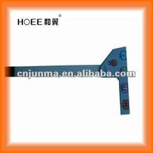 custom size,shape,color etc.high quality membrane remote control keypad