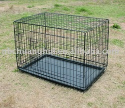 Collapsible Double-door Dog Cage Many Sizes On Sale