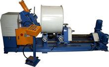 Blower crust flanging machine