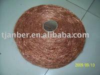 copper coated steel wool