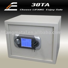 LCD touchable screen office and home digital password safe box