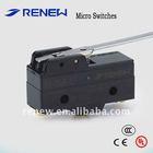 Reverse hinge lever type smart micro switch