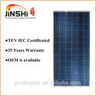 300w poly solar panel for solar system or solar light
